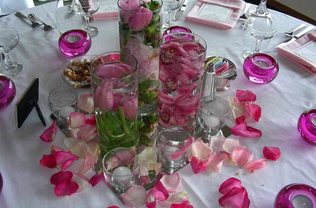 Submerged Floral – Wedding Decor