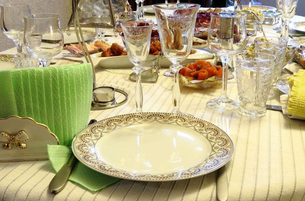 Vintage Table Settings