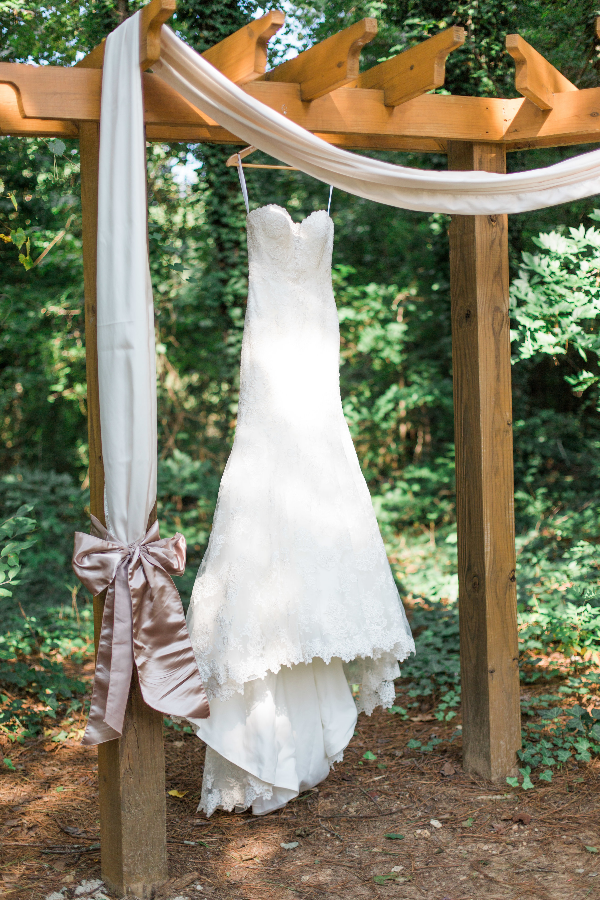 outdoor bride dress photo at Gala