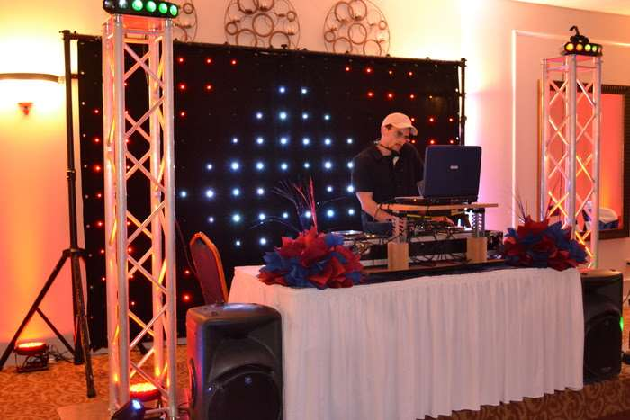 dj performing live music at special events venue in Marietta, GA