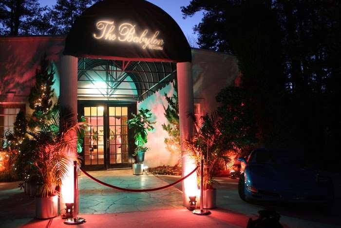 entrance to The Babylon at Gala in Marietta, GA