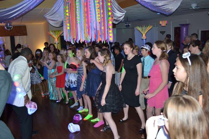 kids dancing at special event party in Marietta, GA