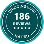 Wedding Wire Badge | Rated by Wedding Wire as a premier wedding venue in Marietta, GA