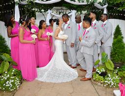 outdoor wedding at Gala in Marietta, GA